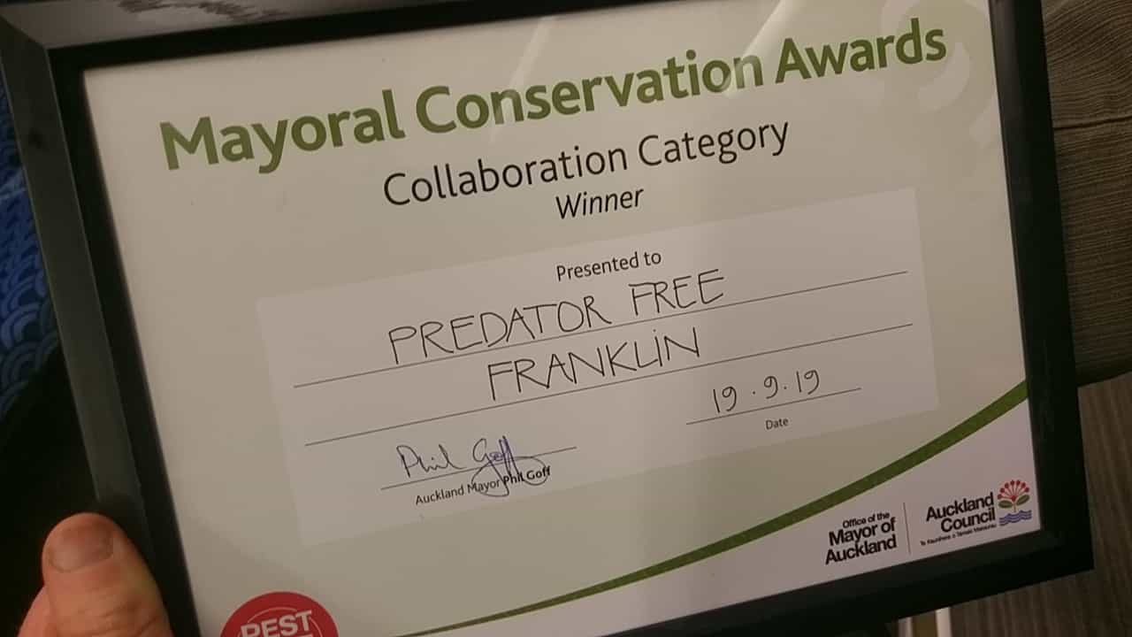Collaborative Conservation Mayoral Award 2019